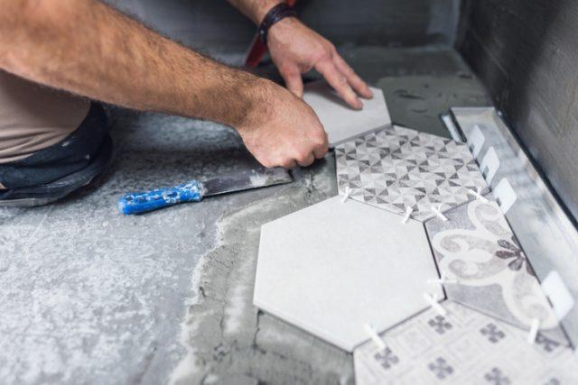 Wzory układania paneli podłogowych